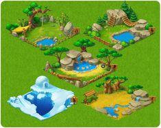 ArtStation - Township Zoo, Playrix Games