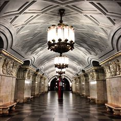 Метро Проспект Мира, кольцевая (metro Prospekt Mira, line 5) , город Москва