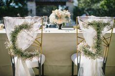 Toma nota de estas ideas de decoración de sillas para boda 2016 Image: 0
