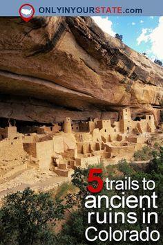 Travel | Colorado | Trails | Hiking | Adventures | History | Ruins | Unusual | Bizarre | Unique | Historic | Architecture | Fitness