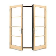 With warm wood interiors and timeless beauty, Marvin Elevate™ Collection windows and doors are made of fiberglass to outlast vinyl, aluminum and composites. Hinged Patio Doors, French Doors Patio, Casement Windows, Windows And Doors, Marvin Doors, Fiberglass Windows, Impact Windows, Brick Molding, Laminated Glass