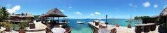 Bora Bora Yacht Club. A sunset dinner must in Bora Bora