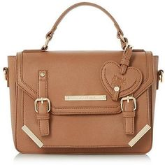Womens tan bag from Dune - £45 at ClothingByColour.com
