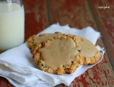 These cookies are inspired by something my mom shared at Thanksgiving this year.  I had one and was hooked.  I may have had three or four.  In the closet.  Cause I was stuffin my face ya'll. So I rushed home and tried to recreate it as best I knew how. It is a jazzed up oatmeal cookie with a