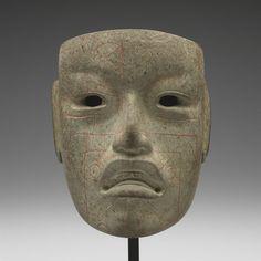 Mask                         Artist Unknown (Olmec)       (Mexico, Central America), 900-300 BCE
