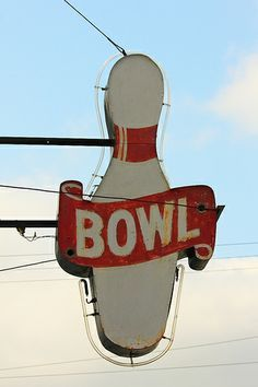 vintage bowling alley - Google Search