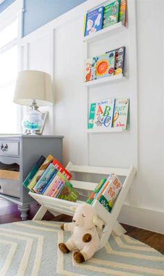 Bookcase Plans, Bookshelves Kids, Bookshelf Diy, Nursery Storage, Diy Storage, Kid Book Storage, Wood Storage, Bedroom Storage, Beginner Woodworking Projects