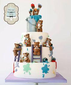 Mira que tarta.