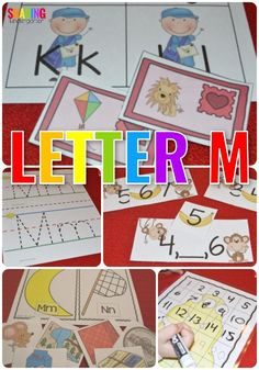 Letter M Activities #lettermactivities #alphabetactivities
