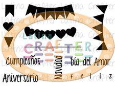 Frases en Español (3 x 4) - Latina Crafter