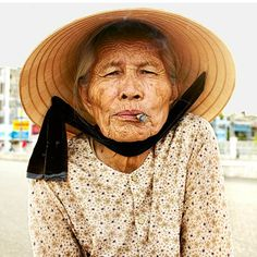 Vietnam's iconic conical hat protects the wearer from sun and rain.