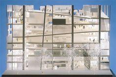 せんだいメディアテーク案/NASCA Japanese Architecture, School Architecture, Interior Architecture, Architecture Models, Structural Model, Sendai, The Expanse, Multi Story Building, Floor Plans