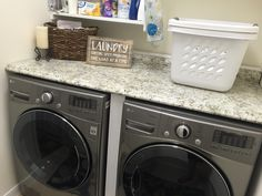 Made over laundry room