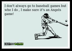 Ecard : baseball : Stay  Angels fans my friends