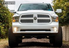 2014 Dodge Ram 1500 Hella Stance 5 Suspension Lift 6 Wheel Offset