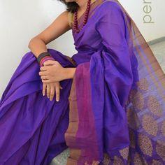 Shopo | Product from PENCILDOTS Shop | Handwoven Silk-Cotton sarees PSD 06. Rs.4,750.