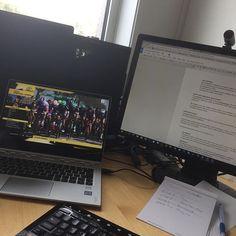 Kombinerer Flanderen rundt og jobb på kontoret. Perfekt søndag! #2sykkel #gründerliv