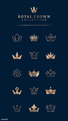Discover recipes, home ideas, style inspiration and other ideas to try. Corona Vector, Crown Logo, Crown Symbol, Logo With Crown, Crown Illustration, Crown Drawing, Crown Art, Royal Logo, Crown Tattoo Design