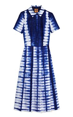 """Tory Burch tie dye made by There Is No Limit Foundation """"Association of women Tie-Dyers"""" of the Republic of Guinea, Kindia Region"""