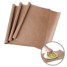 3 Pack PTFE Teflon Sheets for Heat Press Transfers Sheet 16? x 24? Non Stick Heat Resistant Craft Mat Review