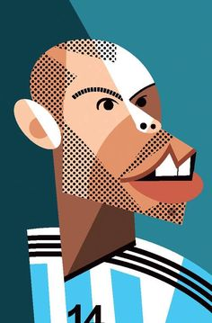 Javier Mascherano by Pablo Lobato