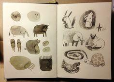 sketchbook // felicita sala illustration