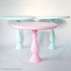 Hand-made cake stands