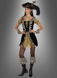 Piraten Kostüm Freibeuter für Damen bei Kostuempalast de