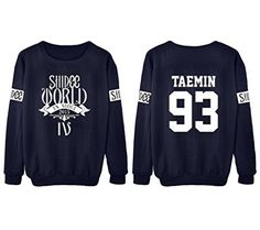 Dolpind KPOP SHINee Sweater Min Ho ONew Taemin Key Unisex Pullover Sweater Shirt