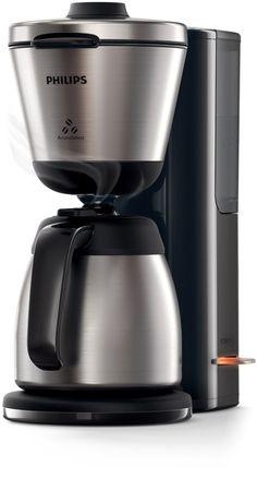 Amazon.de: Philips HD7697/90 Intense Filter-Kaffeemaschine, Aroma-Wahlfunktion, schwarz/edelstahl
