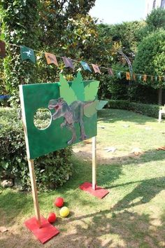 Dinosaurs Birthday Party Ideas | Photo 1 of 25 | Catch My Party