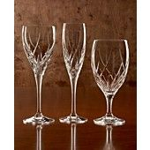 "Marquis by Waterford ""Summer Breeze"" Bar and Stemware - white wine glass or flute - $29.99 each at Macy's"