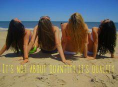 It's not quantity it's quality