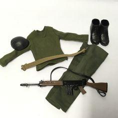 1//6 Scale GI JOE Figures 40th Action Sailor M1919 Browning Machine Gun