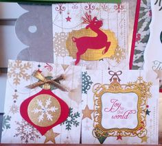 Photo Scraps - Christmas Cards with Beth - December 11, 2013