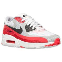 Men\u0026#39;s Nike Air Max 90 Breeze Running Shoes | Finish Line | White/Black/