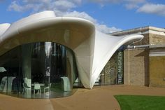 Zaha Hadid's curvaceous extension to London's Serpentine Sackler Gallery.