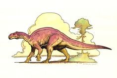 Dinosaurus 2 Comic Art