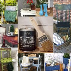 Easily transform your outdated furniture with Vintage And Restore By K Furniture Paint.  Absolutely no prep needed! Achieve Shabby Chic furniture styles simply by sanding or using a wet cloth. Shop the collection at www.vintageandrestorebyk.com. Now also available on Amazon!