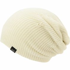 Keep things simple and always in style with the Zumiez Exclusive Vans Creme White beanie for girls. This standard knit beanie is a slouchy fit and comes in an all White colorway, which makes it easy to match so you can wear it with anything. Perfect for cool days, the Creme White beanie from Vans has your style covered!