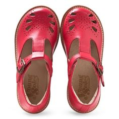Young Soles Red Rosie T-Bar Shoes                                                                                                                                                                                 More