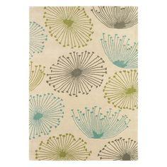 Teppich Dandelion - Schurwolle - Beige