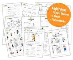 Grundschule Arbeitsblätter - Schulstarterpaket