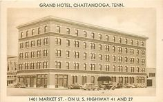 TN-CHATTANOOGA-GRAND HOTEL-TOWN VIEW-K4707