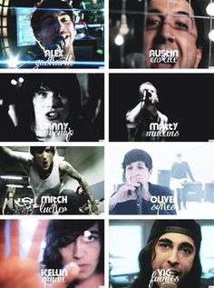 Lead singers from: All Time Low, Of Mice & Men, Asking Alexandria, Memphis May Fire, Suicide Silence, Bring Me The Horizon, Sleeping With Sirens, and Pierce The Veil.