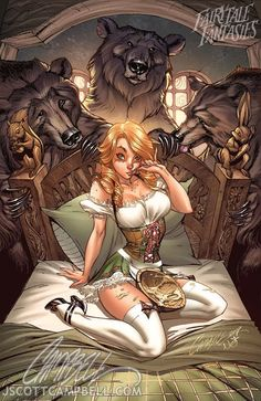 """""""Sexy Comic Book Style Fairytales"""" - Rated M - for Mature 