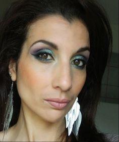 MU  avec les fards @makeupgeektv  - Bling  - Shimmermint  - Mermaid  - Peacock - Envy  - Duchess - Fairytale - Unexpected