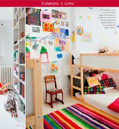 colors + patterns + kids bedroom