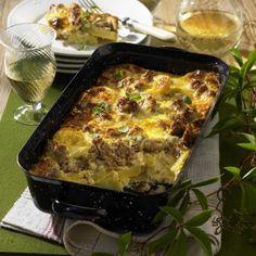 Schweizer Käse-Mett-Kartoffeln Rezept   LECKER