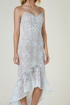 Shape Of You Crochet Dress
